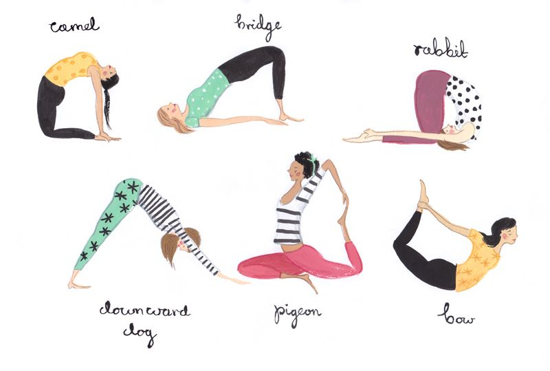 Melakukan yoga hewan dapat melatih motorik anak